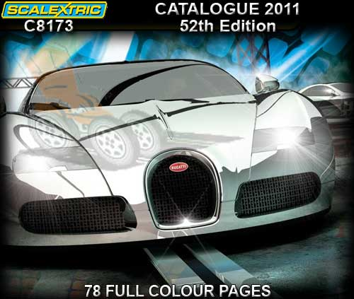 SCALEXTRIC CATALOGUE C8173 - 52nd Edition - Full Colour 2011