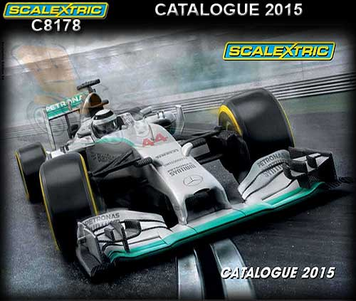 SCALEXTRIC CATALOGUE C8178 - 2015 56th Edition