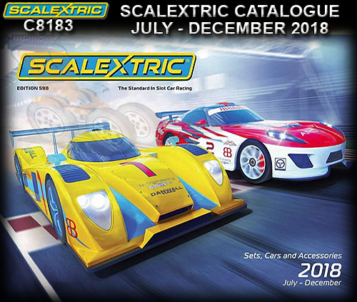 SCALEXTRIC CATALOGUE C8183 - 2018 Jul - Dec 59th (B) Edition