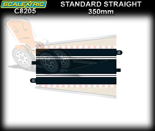 SCALEXTRIC TRACK C8205 - Standard Straight 350 mm