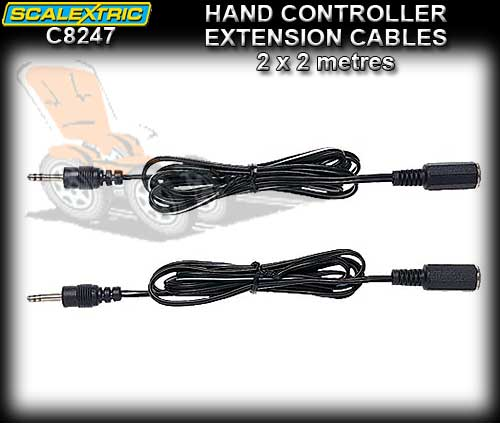 SCALEXTRIC TRACK C8247 - Hand controller Extension Cables