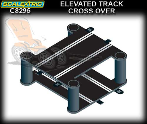 SCALEXTRIC TRACK C8295 - Elevated Crossover