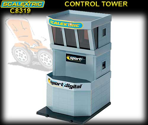 SCALEXTRIC C8319 - Control Tower - Precoloured parts Push fit