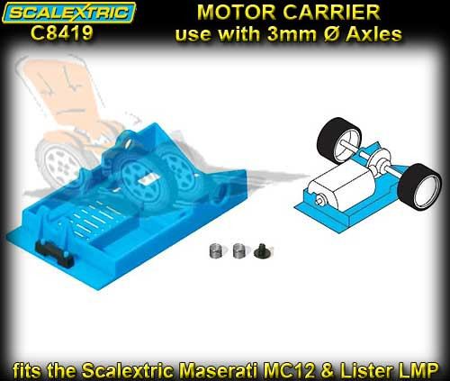 SCALEXTRIC C8419 - Pro Parts Motor Carrier - Le Mans style
