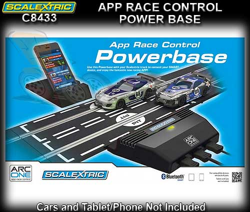 SCALEXTRIC TRACK C8433 - ARC ONE Power base with 2 controllers