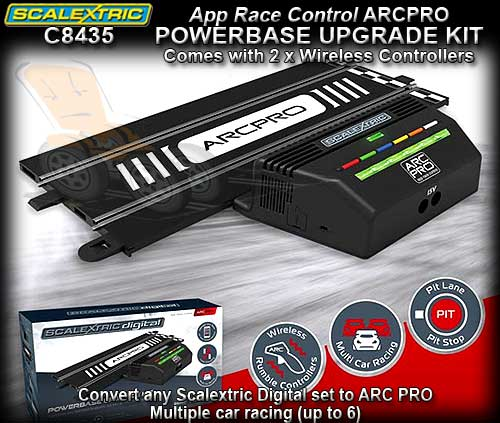 scalextric advanced 6 car powerbase instructions