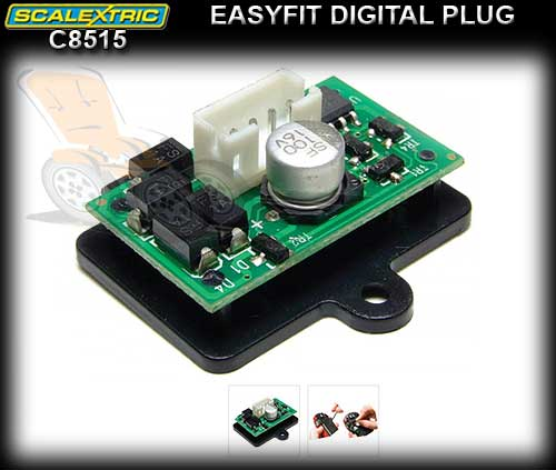 SCALEXTRIC SSD CHIP C8515 - Saloon (DPR) Plug In Digital Chip