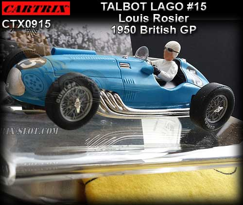 CARTRIX 0915 - Talbot Lago - 1950 British GP #15