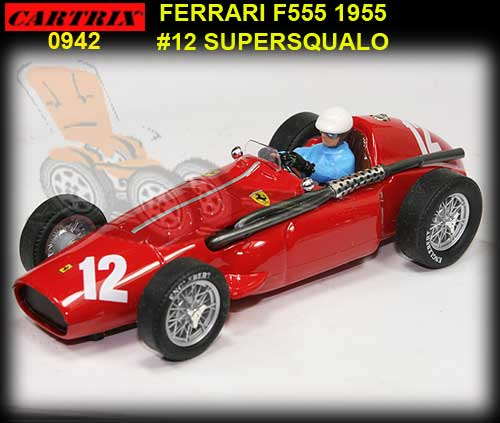 CARTRIX 0942 - Ferrari F555 Supersqualo 1955 #12