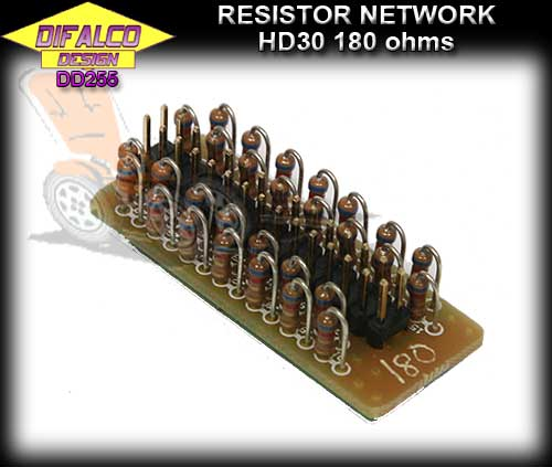 DIFALCO CONTROLLER DD255 - 180 ohm Resistor Network