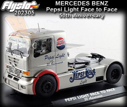 FLYSLOT F202305 - Mercedes Benz - Pepsi Light Face to Face