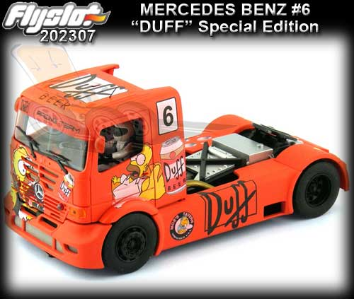 FLYSLOT 202307 - Mercedes Benz - Duff Beer Limited Edition #6