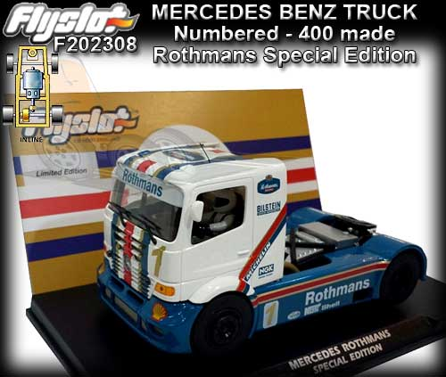 FLYSLOT 202308 - Mercedes Benz - Rothmans Special Edition