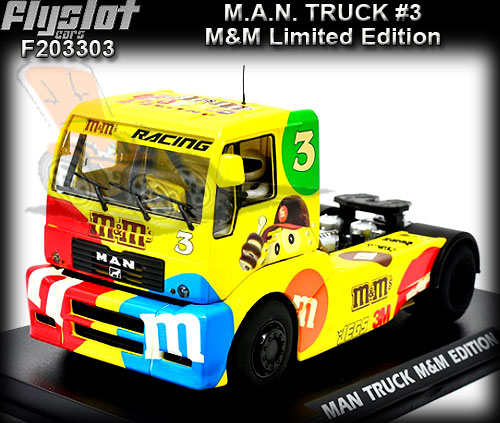FLYSLOT F203303 - MAN TR1400 Truck - M&M Limited Edition #3