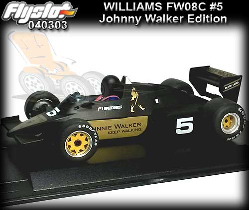 FLYSLOT F40303 Williams FW08C F1 Series - Johnny Walker #5