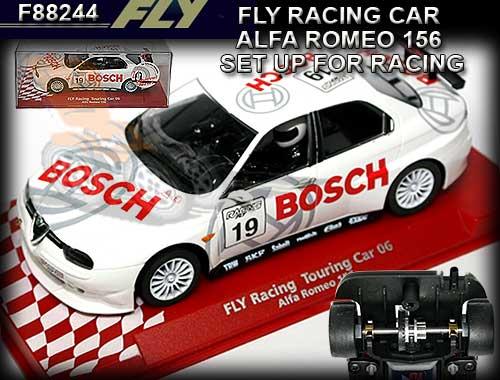 Alfa Romeo 156 Btcc Super Touring Car: FLY : Armchair Racer, Slot Cars, Scalextric, Ninco, Fly