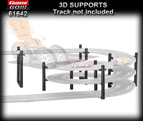 Carrera Supports 3D Voitures