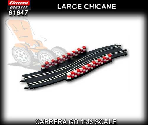 CARRERA GO 1:43 TRACK 61647 - Large Chicane