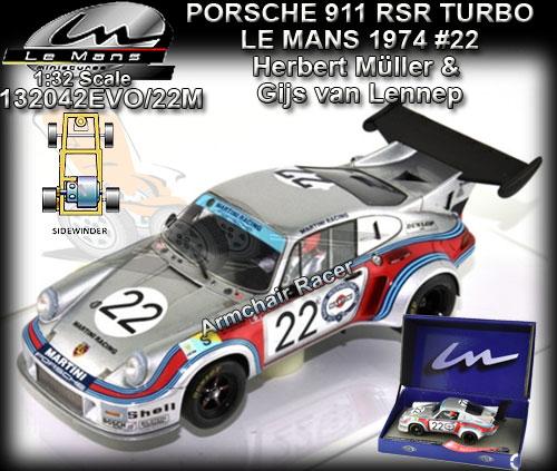 LE MANS MINIATURES 132042EVO/22M - Porsche Turbo RSR #22