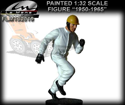 LE MANS MINIATURES FLM132019 - Running Driver - 1950's era