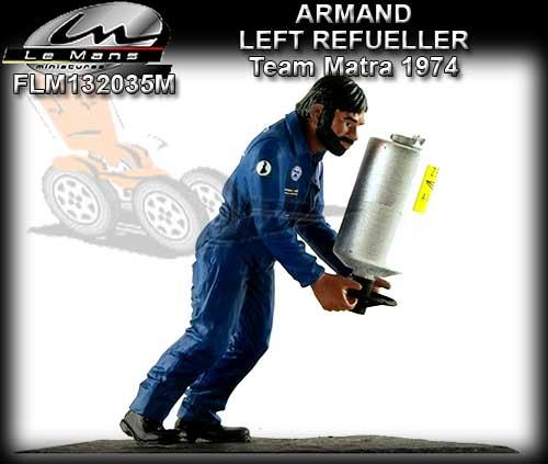 LE MANS MINIATURES FLM132035M - Armand - Refueller - Team Matra