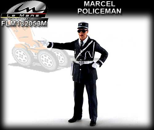 LE MANS MINIATURES FLM132053M - French Policeman - Marcel