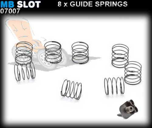 MBSLOT GUIDE SPRING 07007 - Springs for Guide