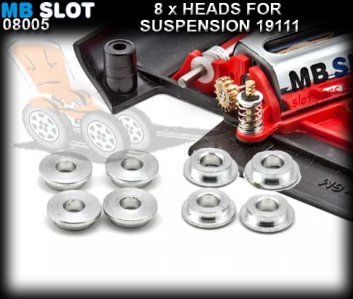 MBSLOT SUSPENSION 08005 - 8 x Heads for Suspension