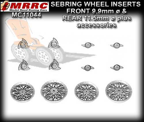 MRRC WHEEL INSERT 11044 - Sebring E Front and Rear - 8 spokes