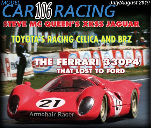 MCR106 - MODEL CAR RACING magazine issue #106 - Jul/Aug 2019