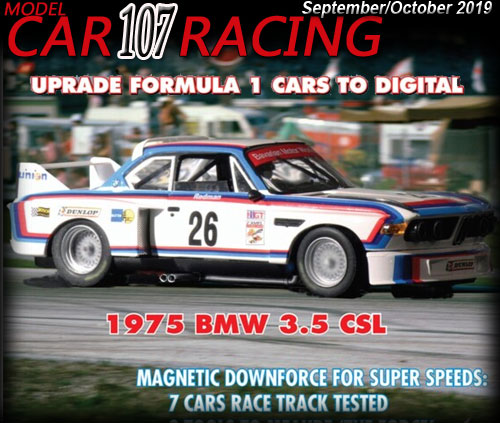 MCR107 - MODEL CAR RACING magazine issue #107 - Sep/Oct 18