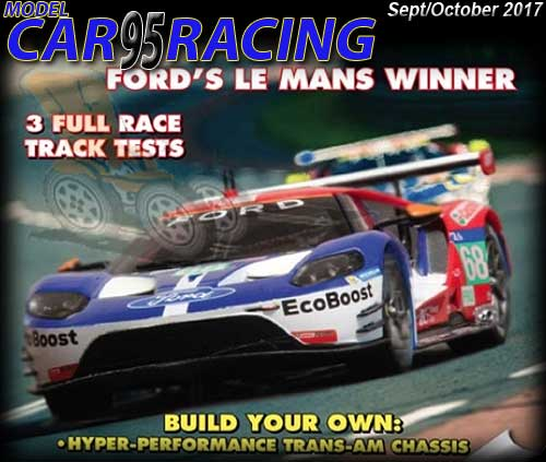 MCR95 - MODEL CAR RACING magazine issue #95 - Sep/Oct 2017