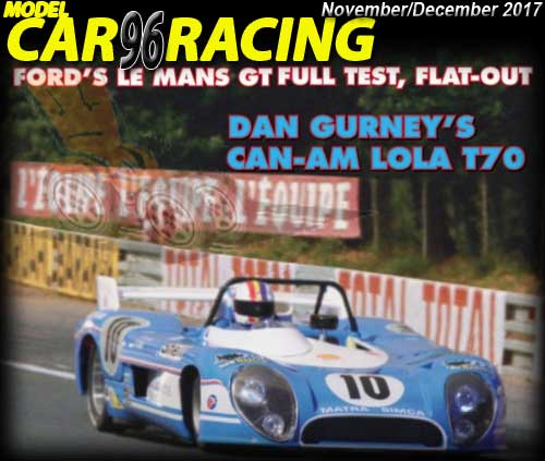 MCR96 - MODEL CAR RACING magazine issue #96 - Nov/Dec 2017