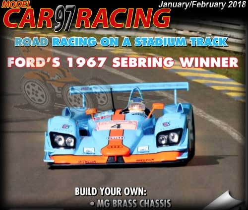 MCR97 - MODEL CAR RACING magazine issue #97 - Jan/Feb 2018