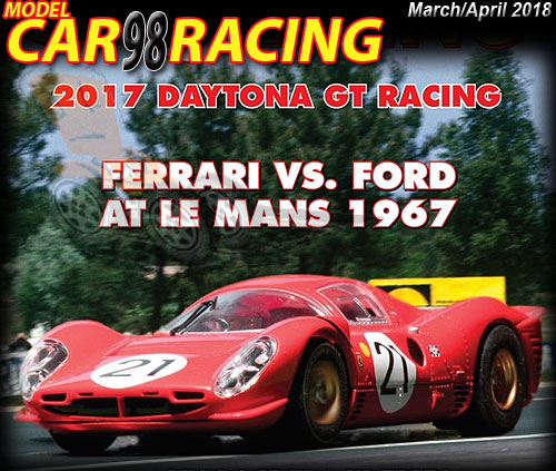 MCR98 - MODEL CAR RACING magazine issue #98 - Mar/Apr 2018