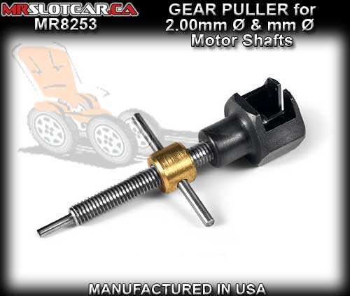 MR SLOTCAR GEAR PULLER MR8253 - Gear Puller for 1.5 & 2mm dia.