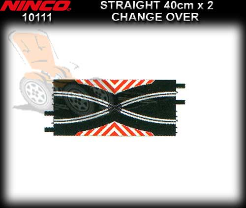 NINCO TRACK 10111 - 2 x Change Over Straights 40cm each