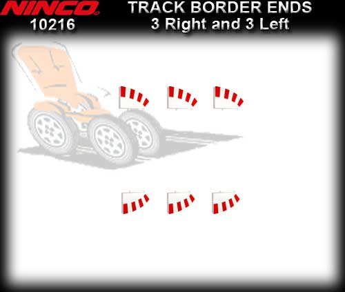 NINCO BORDER 10216 - Border Ends 3 right and 3 left