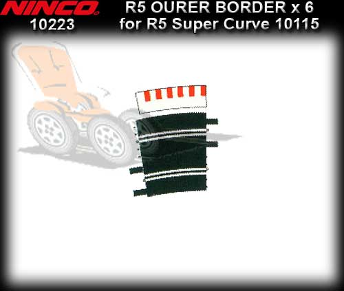 NINCO BORDER 10223 - 6 x 11.25 Outer Borders for R5 Super Curve