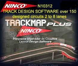 NINCO TRACK 10312 - Ninco Track Map Plus - NDigital Compatible