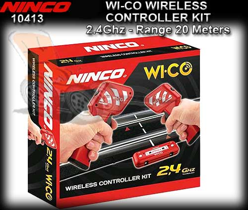 NINCO TRACK 10413 - 2.4 Ghz WI-CO Wireless Controller Kit