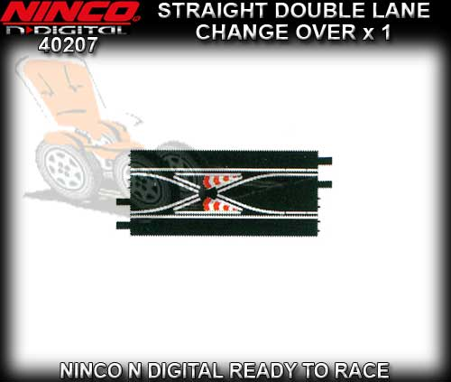 NINCO N-Digital 40207 - Straight Double Lane Changeover 40cm