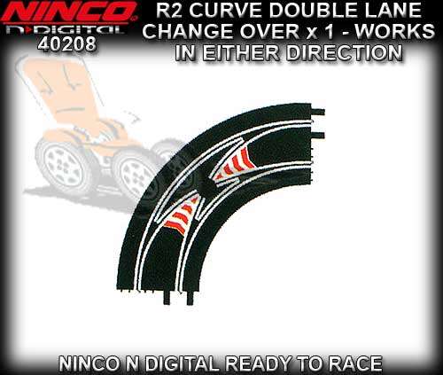 NINCO N-Digital 40208 - R2 Double Lane Changeover Curve