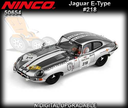 NINCO 50654 - Jaguar E type 1962 #218 - Rally Auto Tour 2014