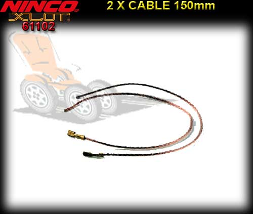 NINCO XLOT 1:28 CHASSIS 61102 - Silicone Cable Ninco Xslot