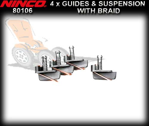 NINCO GUIDE 80106 - 4 x 4 Guide with Suspension and braid