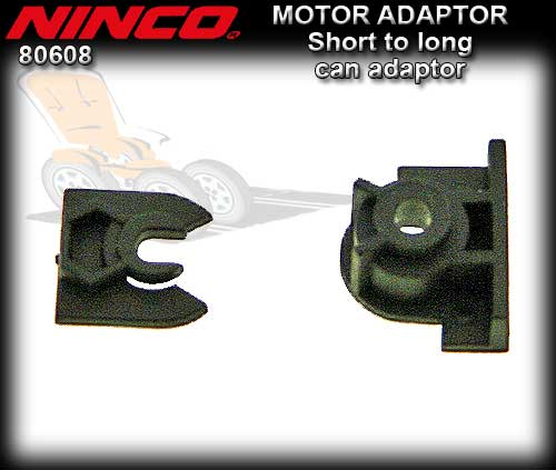 NINCO MOTOR ADAPTOR 80608 - Short Can to Large Can