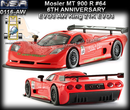 NSR 0116AW - Mosler MT 900R EVO5 - Anglewinder - #64 red