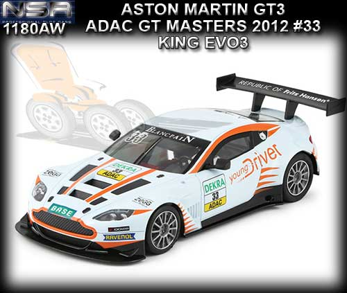 NSR 1180AW - ASV GT - ADAC GT Masters 2012 - Young Driver #33