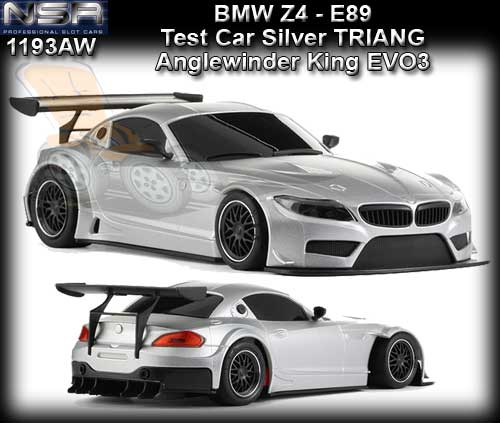 Bmw Z4 Gt3: NSR : Armchair Racer, Slot Cars, Scalextric, Ninco, Fly